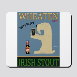Wheaten Irish Stout Mousepad