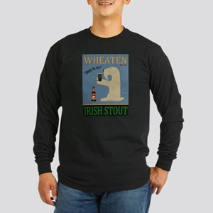 Wheaten Irish Stout Long Sleeve Dark T-Shirt