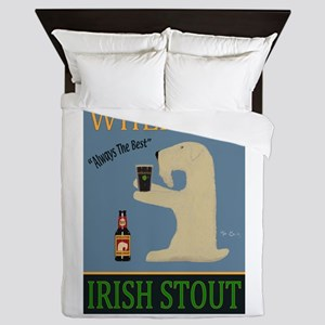 Wheaten Irish Stout Queen Duvet