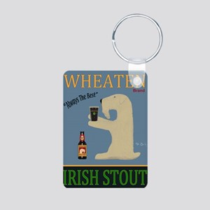 Wheaten Irish Stout Aluminum Photo Keychain