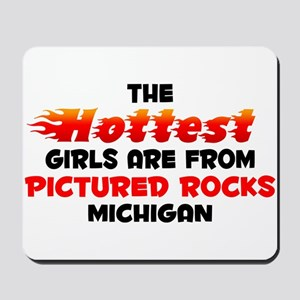 Hot Girls: Pictured Roc, MI Mousepad