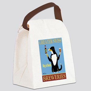 Greater Swiss Mountain Dog Canvas Lunch Bag