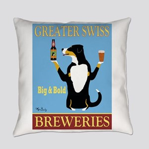 Greater Swiss Mountain Dog Everyday Pillow