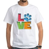Animal pet grooming Mens Classic White T-Shirts
