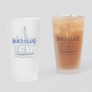 Marco Island Drinking Glass
