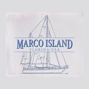 Marco Island Throw Blanket