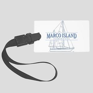 Marco Island Large Luggage Tag