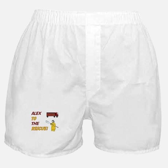 Alex to the Rescue!  Boxer Shorts