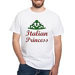 Italian Princess White T-Shirt