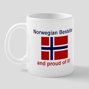 Proud Norwegian Bestefar Mug