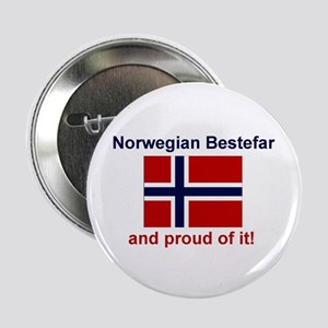 "Proud Norwegian Bestefar 2.25"" Button"