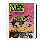 Classic Green Lama #2 Mousepad