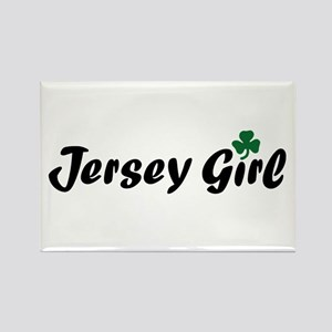 Irish Jersey Girl Rectangle Magnet