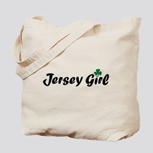 Irish Jersey Girl Tote Bag
