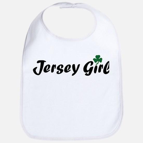 Irish Jersey Girl Bib