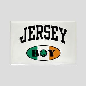 Irish Jersey Boy Rectangle Magnet