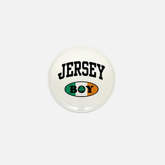 Irish Jersey Boy Mini Button