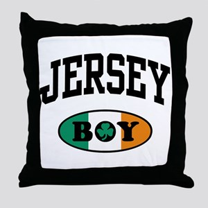 Irish Jersey Boy Throw Pillow