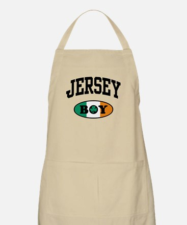 Irish Jersey Boy BBQ Apron