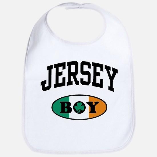 Irish Jersey Boy Bib