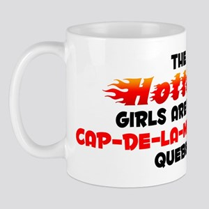 Hot Girls: Cap-de-la-Ma, QC Mug