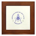 Orrstown Lodge No 262 logo Framed Tile