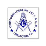 Lg Orrstown Lodge 262 Logo Sticker