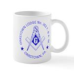 Lg Orrstown Lodge 262 Logo Mugs