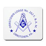 Lg Orrstown Lodge 262 Logo Mousepad