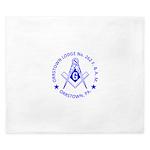 Lg Orrstown Lodge 262 Logo King Duvet