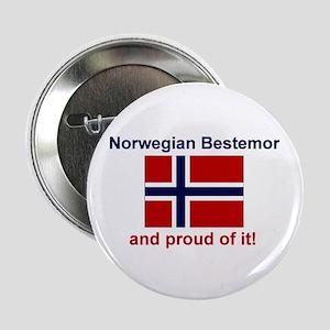 """Proud Norwegian Bestemor 2.25"""" Button"""