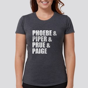 Charmed Sisters Womens Tri-blend T-Shirt