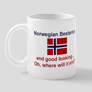 Gd Lkg Norwegian Bestemor Mug