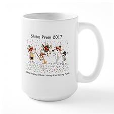 Shiba Prom 2017 Large Mug