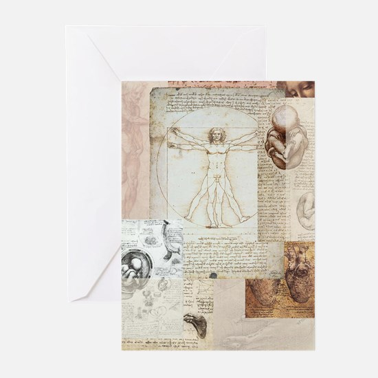 Vitruvian Greeting Cards