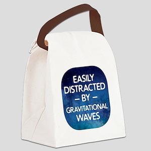 Gravitational Waves Canvas Lunch Bag