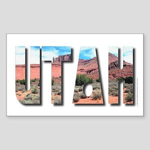 Utah Rectangle Sticker