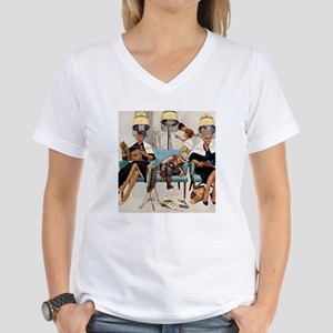 Retro Beauty Salon, Vintage Poster T-Shirt