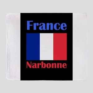 Narbonne France Throw Blanket
