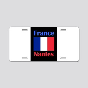 Nantes France Aluminum License Plate
