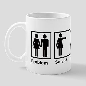 Women's Problem Solved Mug
