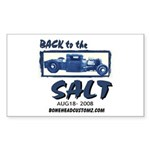 Back to the Salt Rectangle Sticker