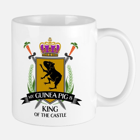 My Guinea Pig is King of the Castle Mugs