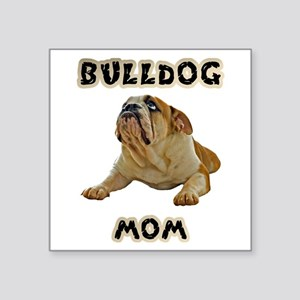 Bulldog Mom Sticker