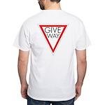 Give Way White T-Shirt