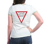 Give Way Jr. Ringer T-Shirt