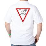 Give Way Golf Shirt