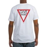 Give Way Fitted T-Shirt