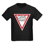 Give Way Kids Dark T-Shirt