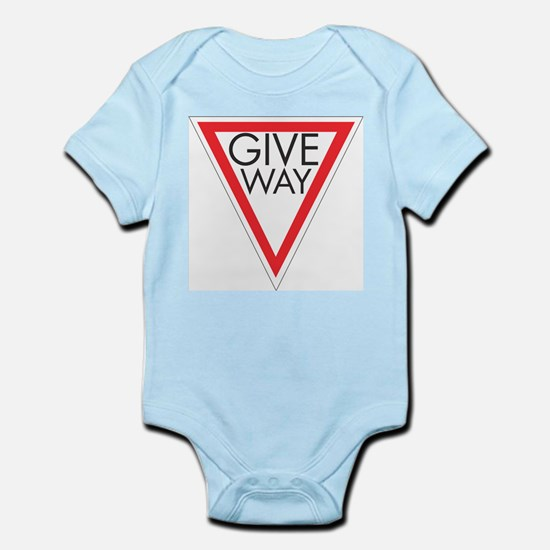 Give Way Infant Bodysuit